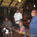 relaxed after dinner atmosphere, Afrika Stadt Haus Hotel Ongwediva