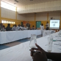 workshop - still four hours to go, multipurpose center Ongwediva
