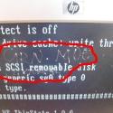 unlucky HP display