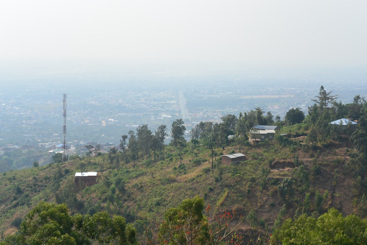 view from Bujumbura University, Kiriri Campus, Bujumbura, Burundi