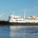 maritime-freak...southbound Hurtigruten MS Lofoten, Trondheim
