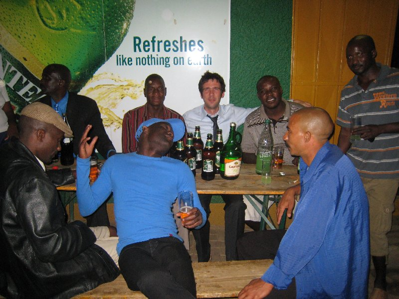 The \'only-expats-will-have-it-experience\' (or the insane tourists;-): after sunset somewhere deep down in Katutura