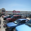 car-park in front of GAME, Oshakati