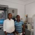 Lee and Leevi - the two ICT Technicians at the Regional Council