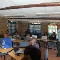 Workshop at our Teacher Resource Center (TRC) in Ruacana
