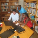 Monthly 4-O-Region IT meeting. Teacher Resource Center (TRC) Ongwediva, Oshana region.
