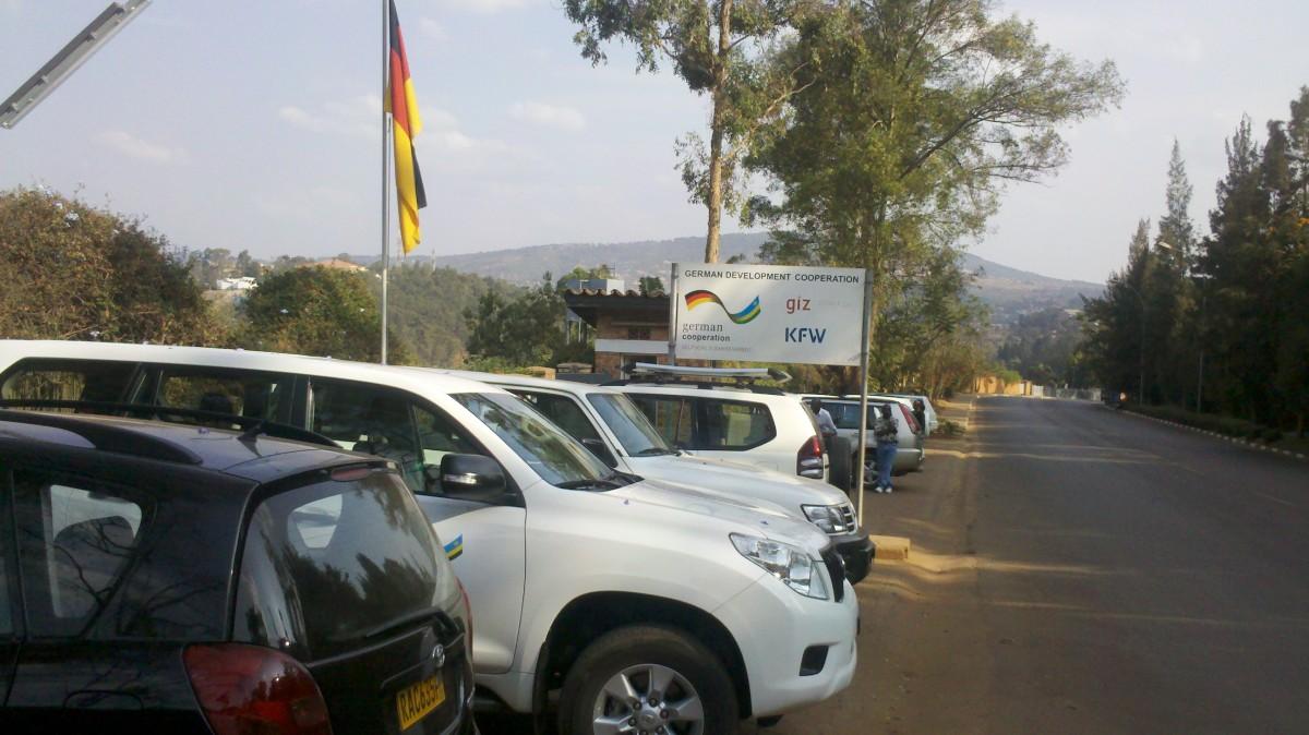 GIZ main office, Kigali