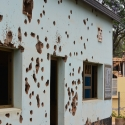Camp Kigali Memorial - during the beginning of the 94\' genocide ten Belgian peace keepers unable to protect the Prime Minister were executed here, KIST, Kigali