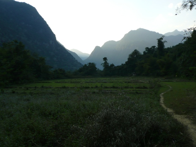 Laos backcountry