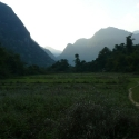Laos backcountry