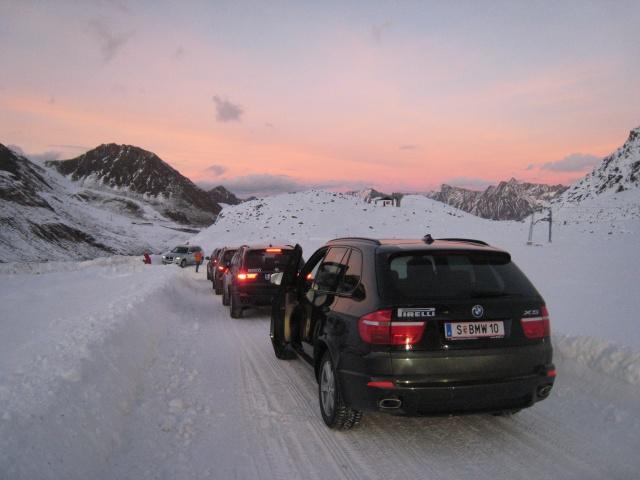 BMW Winter Technic Drive in Sölden \'08