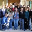 group photo Interteam 'departure preparation' course winter 09', Bad Schönbrunn, CH