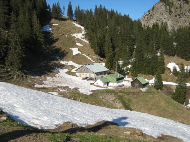 Hirschalpe Alpine hut