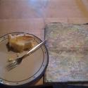 Homemade cheese cake
