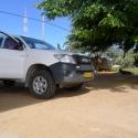 the family car, Ruacana