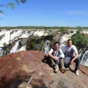 never had so much water since they started recording, Ruacana water falls