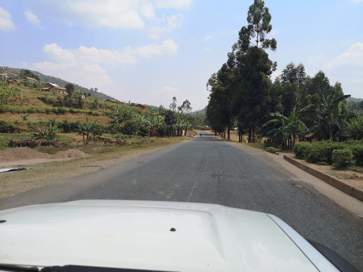 RN1 between Kigali and Muhanga, Rwanda
