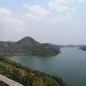 lake Kivu nearby Kibuye on RN7, Rwanda